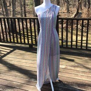 NWT! BCBG Maxazaria Size 4,One Shoulder Dress